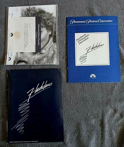 Flashdance Press Kit w/Photos JENNIFER BEALS Adrian Lyne MICHAEL NOURI 1983