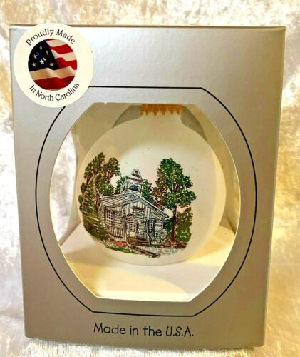 DollyWood Chapel Christmas Ornament - New