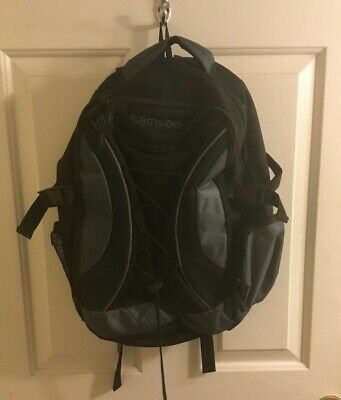 Samsonite Teal and Black Notebook Backpack... FREE SHIPPING!