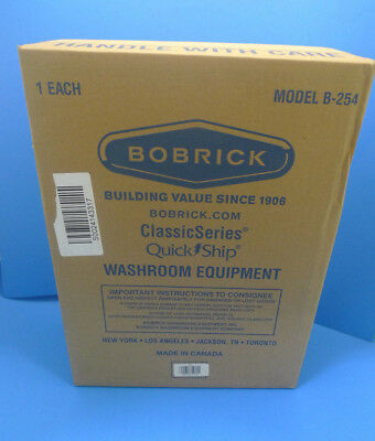 NEW Bobrick Surface Mount Sanitary Napkin Disposal Receptacle Model B-254
