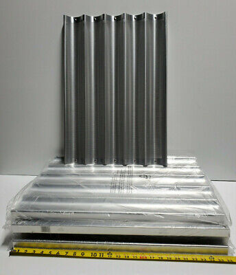 6 - Focus Foodservice Perforated Baguette Pan - 5 Long Molds 18x26 905005