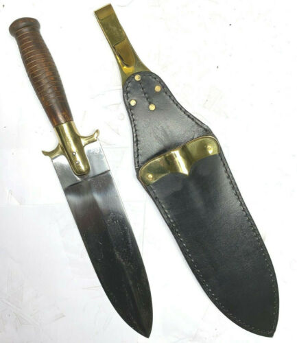 M1880 Hunting Knife with Leather Sheath - Reproduction