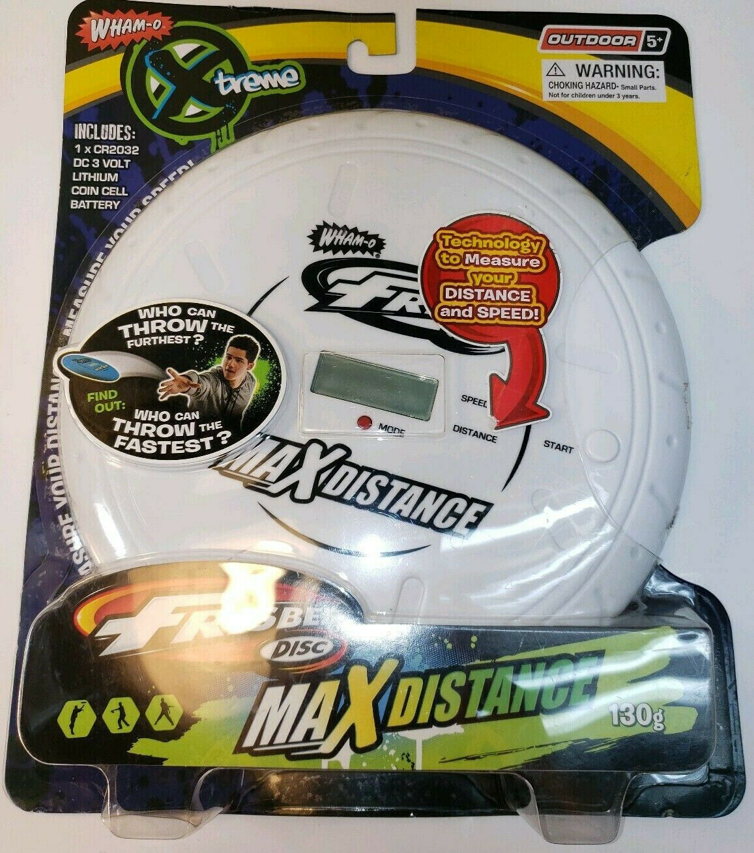 Whamo Xtreme Distance Tech Frisbee - Yellow