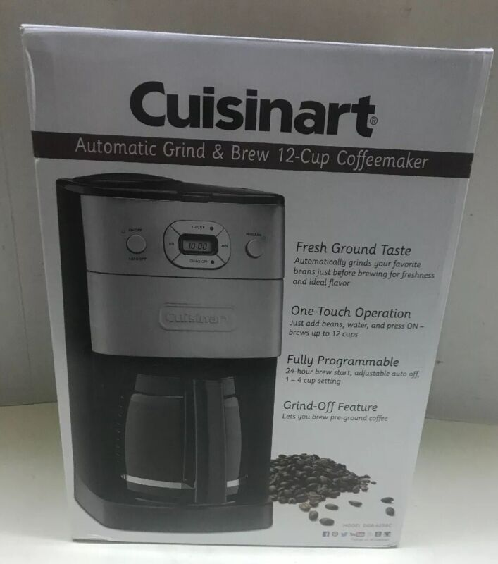 Cuisinart Grind & Brew 12-Cup Automatic Coffeemaker Multi Dgb-625bc