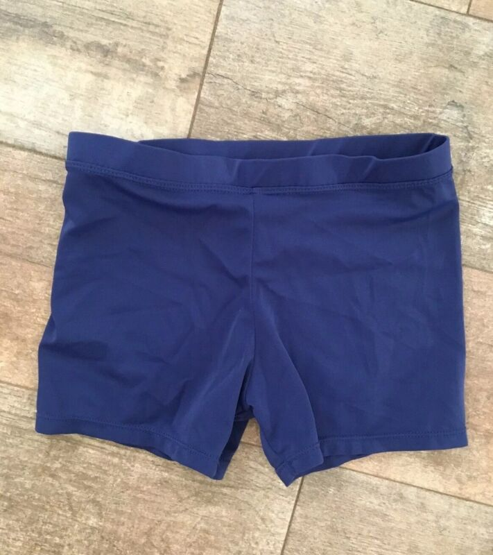 Girl's Stretch Dance Shorts Size Large 10/12