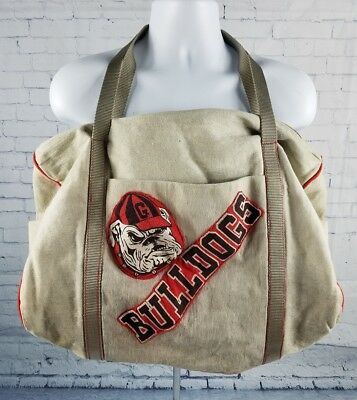 Винтаж Vintage Georgia Bulldogs Duffel Bag