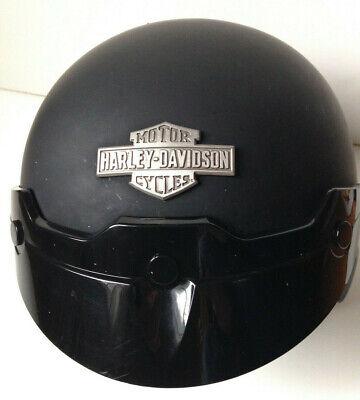 Harley-Davidson Hightail B09 5//8 Jethelm Gr Schwarz Matt M Motorrad Helm