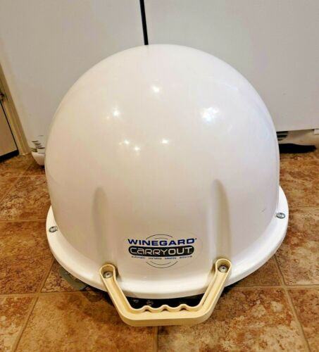 WINEGARD CARRYOUT AUTOMATIC PORTABLE DISH DIRECT TV ANTENNA RV