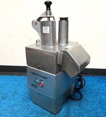 Robot Coupe R6x Series D Commercial Food Processor. Wblade