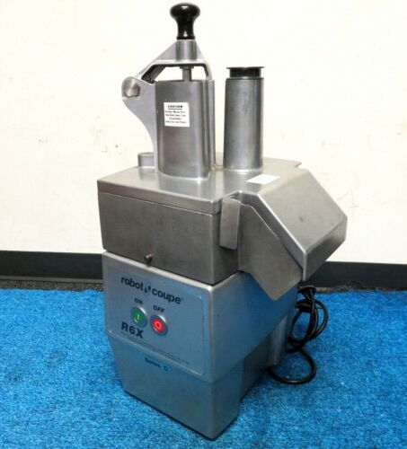 Robot Coupe R6X series D Commercial Food Processor. W/Blade