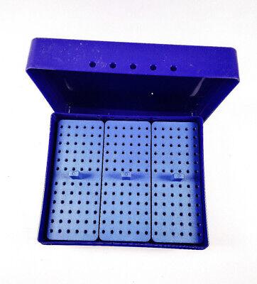 Dental Endo Box For Reamer 216-holes 135 Autoclava Disinfect Holder Box