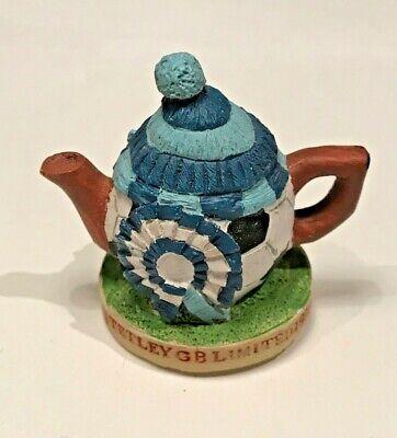 ☕TETLEY GB LIMITED 1996 SYDNEY'S TEAPOT Miniature Football Resin Ornament Figure