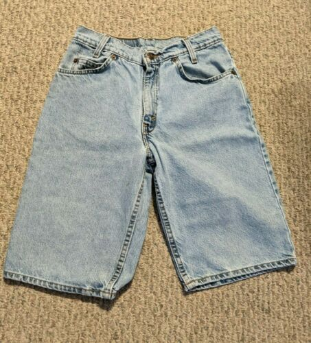 BOYS 550 RELAXED FIT STUDENT 29 JEAN SHORTS