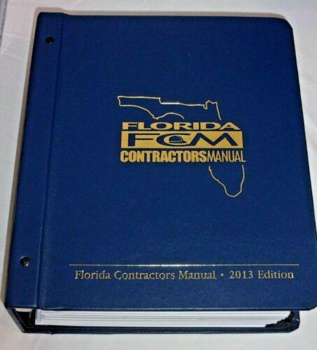 Florida Contractors Manual 2013 Edition - FCM Binder