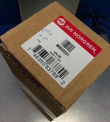 Imi Norgren M900031 Pneumatic Direct Solenoid Valve