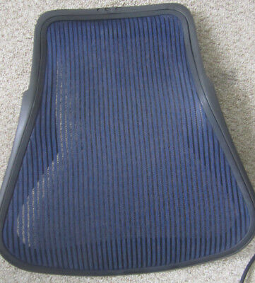 Herman Miller Aeron Chair Backrest Size B Blue