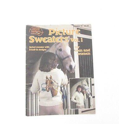 Винтажные VTG 1981 Picture Sweaters Vol