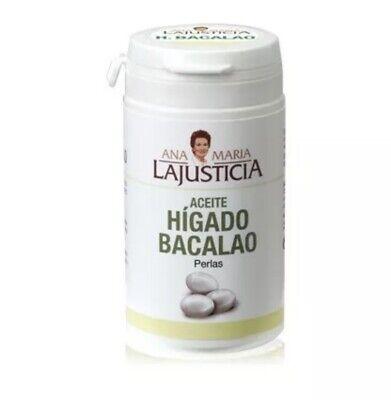 ANA MARIA LAJUSTICIA ACEITE HIGADO BACALAO 90 PERLAS