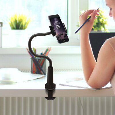 Aduro Solid-Grip Phone Holder Stand Universal Gooseneck Smartphone Desktop Mount