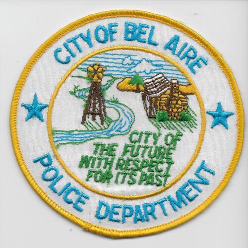Older Bel Aire Police State Kansas KS Colorful