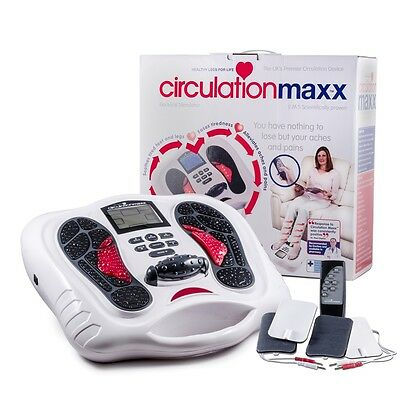 Circulation Maxx .Medically Approved.Class IIa Blood Booster. Foot Massager