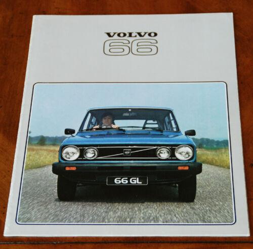Volvo (DAF) 66 GL sales brochure Prospekt, 1978