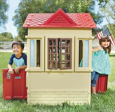 Kids Outdoor Playhouse Toy For Girls Boys 2-3 Year Olds Best Pretend Play