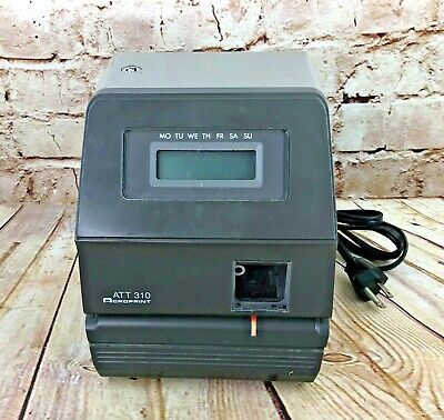 Acroprint Att310 Time Clock Unit Only Need Key Cards And Ink