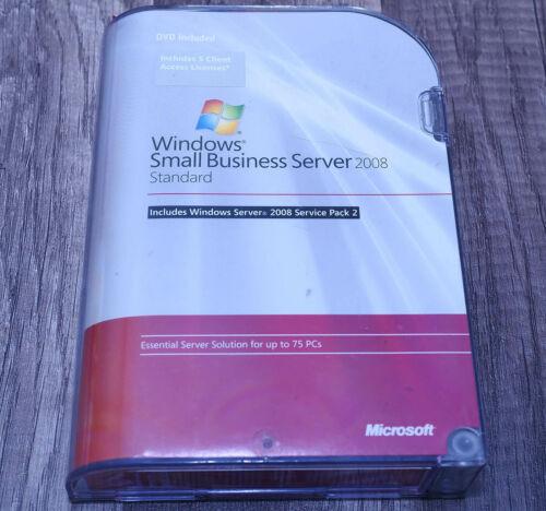 Microsoft Windows Small Business Server 2008 5CAL T72-02654 full ver genuine SP2