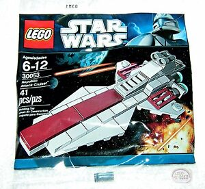 Lego Star Wars:  Mini Republic Attack Cruiser, 30053