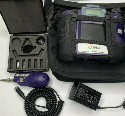 JDSU HP2-60-P2 Fiber Optic Microscope & Power Meter - 200x/400x Microscope Kit