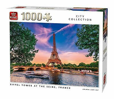 1000 Piece King City Collection Jigsaw Puzzle Eiffel Tower France Paris Gift 851](Eiffel Tower Puzzle)