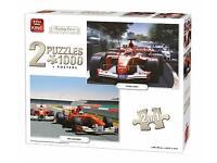 1000 Piece Formula One 1 Racing Cars Jigsaw Puzzle AYRTON SENNA TRIBUTE 05628