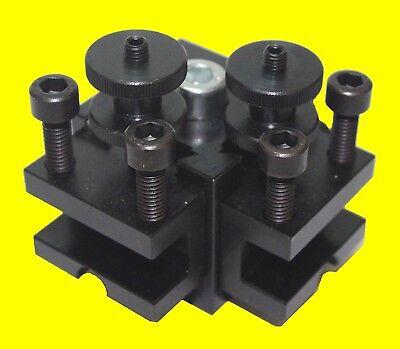 PROXXON 24026 Mehrfachstahlhalter inkl. 2 Haltern für Drehmaschine PD250/e NEU