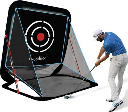 Pop Up Golf Net Golf Hitting Net Golf Practice Nets  with Target and Carry Bag