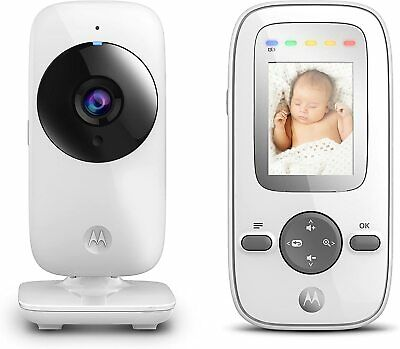 "Motorola Video Baby Monitor 2"" Handheld Unit Infared Night Vision Zoom MBP481"