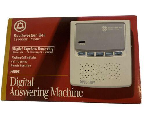 Southwestern Bell Freedom Phone FA968 Digital Answering Machine Remote NEW