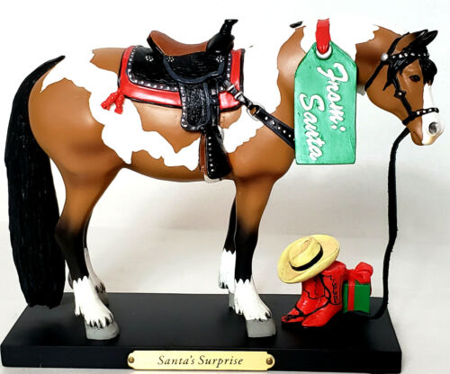 The Trail Of Painted Ponies Santa
