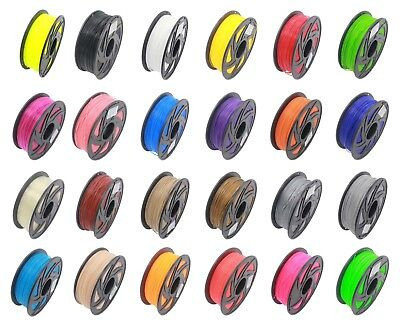 3D Printer Filament 1 75Mm Abs Pla 1Kg 2 2Lb Multiple Color Makerbot Reprap