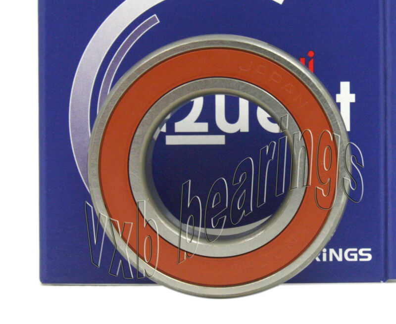 6201-2NSE/RS/2RS Nachi 6201RS 12mm Bore/ID Sealed Ball Bearing Made in Japan