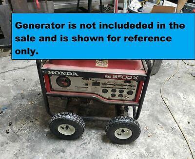 Wheel Kit For Honda Generator Eb4000x Eb5000x Eb6500x