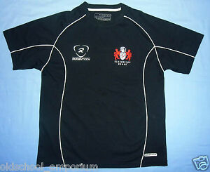 Gloucester Rugby / 2007-2009 (?) - RUGBYTECH - VTG JUNIOR Shirt. Size: LARGE BOY - Poland, Polska - Gloucester Rugby / 2007-2009 (?) - RUGBYTECH - VTG JUNIOR Shirt. Size: LARGE BOY - Poland, Polska