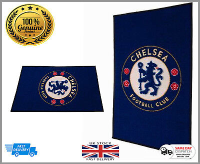 100% Official Licens Chelsea Football Club Large Rug bedroom - Non Slip Mat Gift, used for sale  Manchester