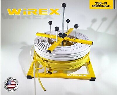 Wirex - Electrical Wire And Cable Dispenser - Romex Bx Rolls Spools