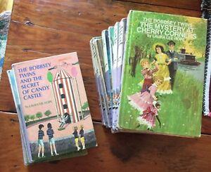 Lot of 11 Bobbsey Twin Books