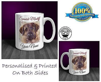 Spanish Mastiff Personalised Ceramic Mug: Perfect Gift. (D238)