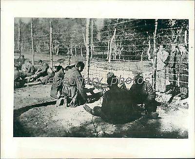 1945 World War Ii Allied Prisoners In Germany Original News Service Photo