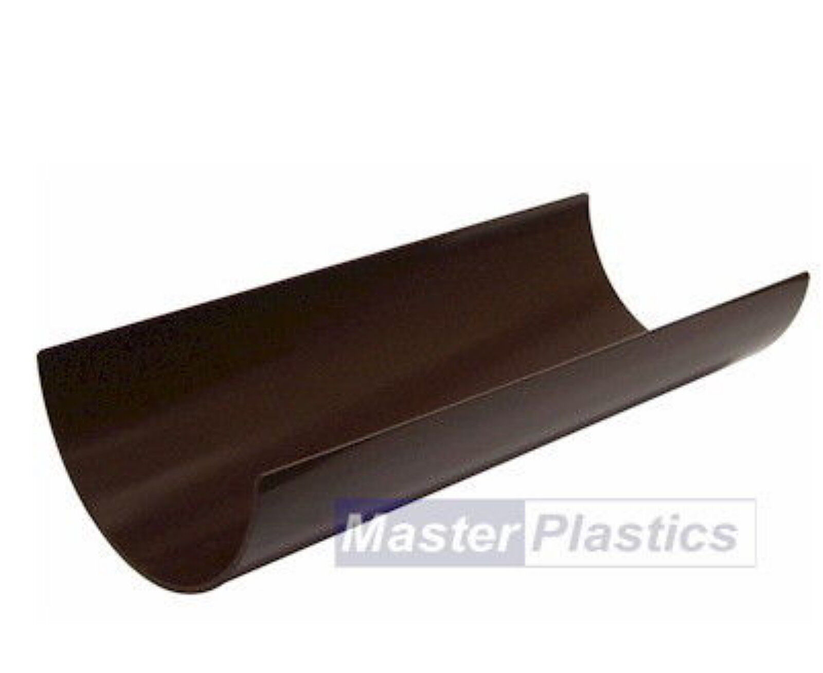New Plastic Brown Round Gutter And Guttering Down Pipe