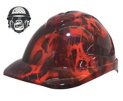 Custom Hydrographic Safety Hard Hat Mining Industrial Bird PINK FLAMINGO CAP