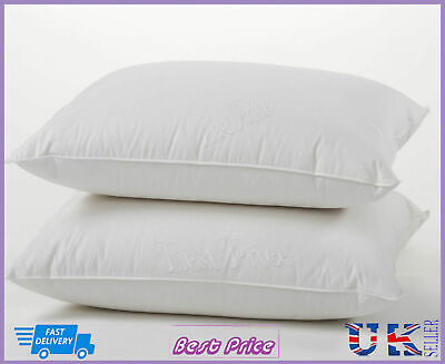 Natural Goose Feather & Down Twin Pillow,Comfortable Extra Filling Best